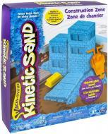 Кінетичний пісок Wacky-Tivities Kinetic Sand Construction Zone блакитний + формочки 71417-2