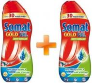 Засіб для ПММ Somat Gold gel anti-grease 2 x 0.54 л