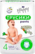 Підгузки-трусики HAPPY BELLA BABY Maxi 8-14 кг 12 шт (BB-055-LU12-002)