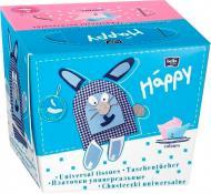 Серветки паперові у коробці HAPPY BELLA BABY універсальні Заєць (BB-042-U080-001) 80 шт.