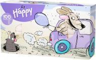 Серветки паперові у коробці HAPPY BELLA BABY універсальні Собака (BB-042-U100-005) 100 шт.