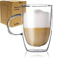 Чашка чайная с двойной стенкой Solito 400 мл 201-13 S&T