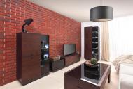 Плитка бетонна кутова Stone Master Wall Brick Red 1,57 пог.м
