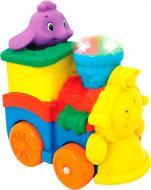 Розвиваюча іграшка Kiddieland Паровозик слоненятка 53462