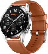 Смарт-годинник Huawei GT 2 Classic brown 46 мм(55024470)