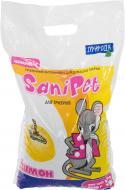 Наповнювач для гризунів Природа Sani Pet Лимон 2,5 кг