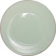 Тарелка обеденная Rombique Menthol 19 см Bella Vita