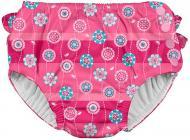 Підгузки-трусики для плавання I Play Hot Pink Stripe Flower рожевий
