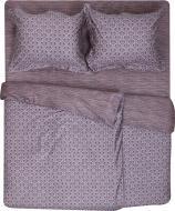 Комплект постельного белья Andro семейный серо-бежевый La Nuit