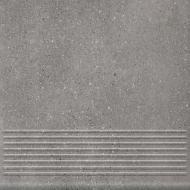 Клинкерная плитка Mattone Sabbia Grafit Stopnica Prosta 30x30 Ceramika Paradyz