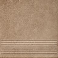 Клінкерна плитка Mattone Sabbia Beige Stopnica Prosta 30x30 Ceramika Paradyz