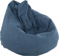 Крісло-мішок Марбет Malaga №18 M 160 л синій