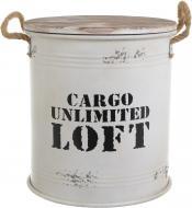 Бочка декоративная Cargo Loft белый YA11185L