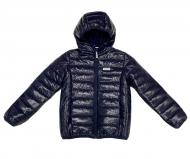 Куртка детская для мальчика JOIKS р.128 темно-синий KD-04/128