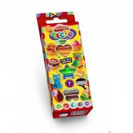 Комплект креативного творчества Danko Toys Тесто для лепки Master Do 7 цветов планшет укр. 7541DT