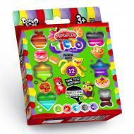 Комплект креативного творчества Danko Toys Тесто для лепки Master Do 12 цветов планшет укр. 7521DT