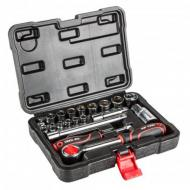 Набір головок Top Tools 1/4 + 3/8 20 шт. 38D520
