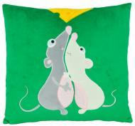 Подушка декоративная Тигрес Мышиная любовь 35 см
