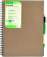 Блокнот Eco Pen A5 80 аркушів коричневий 945321 Mintra