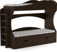 УЦІНКА! Ліжко Компаніт Бриз 70х190 см венге