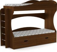УЦІНКА! Ліжко Компаніт Бриз 70х190 см горіх/екко