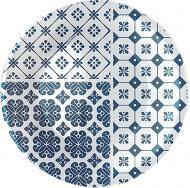 Тарілка десертна Vietri blue 21 см Bormioli Rocco