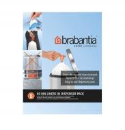 Мешки для мусора с затяжками Brabantia Bin Liners крепкие 5 л 60 шт.