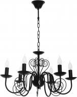 Люстра підвісна Victoria Lighting 6x40 Вт E14 чорний Luce/SP6