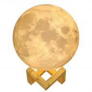 Настольный светильник Луна Magic 3D Moon Light Touch Control 15 см Moonlamp (200864)