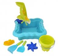 Набор для игры с песком и водой Luna Kids с мельницей 7 элементов 39844