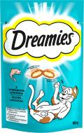 Снеки Dreamies с лососем 60 г