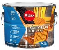 Лакобейц Altax сатиновый глянец махонь 2,5 л