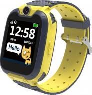 Смарт-часы детские Canyon Tony grey/yellow (CNE-KW31YB)