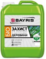 Грунт Bayris для конструкционной древесины Концентрат 1:9 зелёный 5 л
