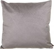 Подушка декоративна Velvet Модерн 45x45 см сірий La Nuit