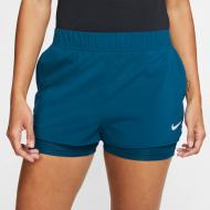 Шорты Nike W NKCT FLEX SHORT 939312-432 р. XS синий