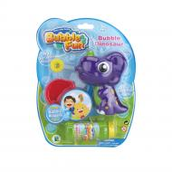 Мильні бульбашки Bubble Fun Динозавр фіолетовий 60 мл DHOBB10124