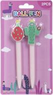 Набір ручок кулькових Ningbo Johnshen Stationery Co. Ltd Кактус ID10168 2 шт.