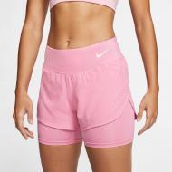 Шорты Nike W NK ECLIPSE 2IN1 SHORT AQ5420-601 р. XS розовый