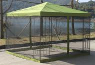 Павільйон садовий Indigo 3x3x2,6 м DU171 оливковий