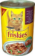 Консерва Friskies для котів Purina кріль з овочами 400 г