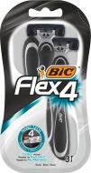 Станки одноразовые BIC Flex 4 3 шт.