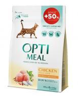 Корм Optimeal для дорослих котів з куркою