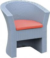 Крісло Rattwood 2066 78x69x64 см сірий