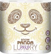 Туалетний папір Сніжна Панда LUXURY Pure тришаровий 4 шт.