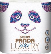 Туалетний папір Сніжна Панда LUXURY Art чотиришаровий 4 шт.