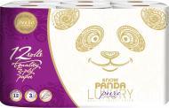 Туалетний папір Сніжна Панда LUXURY Pure тришаровий 12 шт.