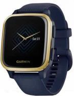 Смарт-часы Garmin Venu SQ Music Edition navy/light gold (010-02426-12)