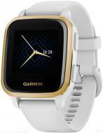 Смарт-часы Garmin Venu SQ Music Edition white/light gold (010-02427-11)
