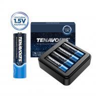 Аккумулятор TENAVOLTS Lithium 1,5 В с зарядным устройством AA (R6, 316) 4 шт. (717)